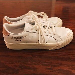 Adidas Originals Platform Suede Stan Smith Shoes